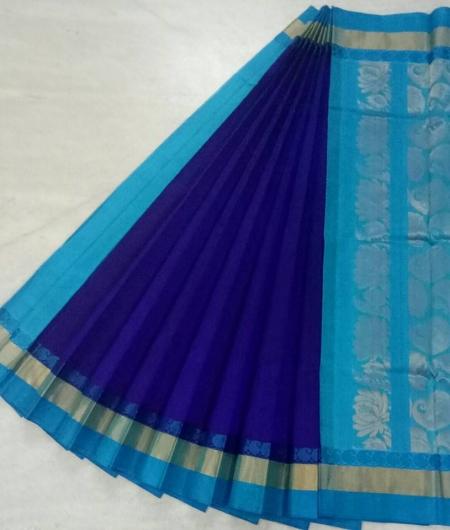 Pure Kanchipuram Silk Cotton Saree -  HSC 421