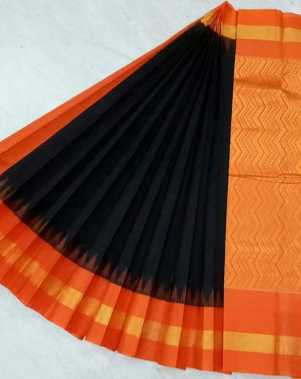 Pure Kanchipuram Silk Cotton Saree -  HSC 431